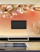 Ар деко / 3D Обои Для дома Современный Облицовка стен , Холст материал Клей требуется фреска , номер Wallcovering