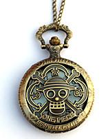 Uhr/Armbanduhr Inspiriert von One Piece Eren Jager Anime Cosplay Accessoires Uhr/Armbanduhr Gold Legierung Mann