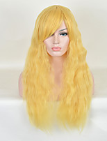 Fashion Long Natural Wave Cheap Heat Resistant Women Cosplay Synthetic Wig