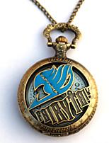 Uhr/Armbanduhr Inspiriert von Fairy Tail Eren Jager Anime Cosplay Accessoires Uhr/Armbanduhr Gold Legierung Mann