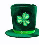 1pc le chapeau irlandais pour costume de halloween couleur aléatoire