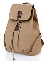 Women Canvas Casual Backpack Blue / Brown / Black / Khaki