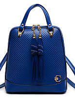 Women Polyester Casual / Outdoor Backpack White / Blue / Gold / Black