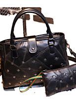 Damen Schafspelz Alltag Bag Sets