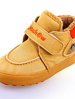 Boy's Boots Winter Comfort Canvas / Cotton Outdoor / Casual Flat Heel Hook & Loop Blue / Yellow / Red Walking / Sneaker