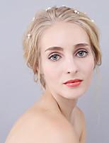 Vrouwen Imitatie Parel Helm-Bruiloft / Speciale gelegenheden / Buiten Haarspeld 4-delig