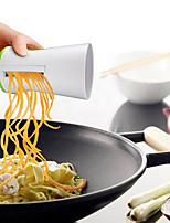 Vegetable Spiralizer Safety 2-Blade Design Handheld Compact Veggie Spiral Slicer