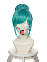 Hatsune Miku Project DIVA Diver Mixed Water-Blue Halloween Wigs Synthetic Wigs Costume Wigs