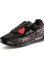 Men's Air Max Running Athletic Sneakers Casual Outdoor Sport Shoes Black Red White