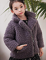 Girl's Casual/Daily Solid Suit & BlazerOthers Winter Beige / Gray