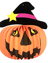 1PC Halloween Ball For Party Decor Costume Party Gift Prop Novelty Ornaments Hanging Pendant Pumpkin Paper Lanterns