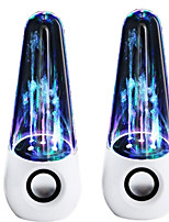 Waterdance Speaker Colorful Lamp Fountain Bullet Head Car Audio