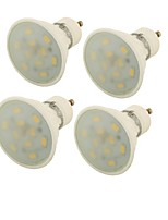 YouOKLight 4PCS GU10 5W 10*5730 400LM 3000K Warm white ceramic  Spot LightsAC85-265V)