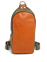 Men Casual Backpack Cowhide