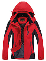 Hiking Softshell Jacket Men's Breathable / Thermal / Warm / Quick Dry / Windproof / Ultraviolet Resistant