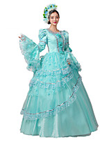 Steampunk@Women's Deluxe Victorian Parties Costume Beauty Princess Dresses