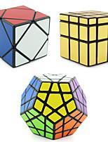 Shengshou® Гладкая Speed Cube Чужой / Мегаминкс / Skewb профессиональный уровень Избавляет от стресса / Кубики-головоломкиРозовый /