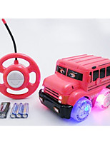 Car Racing 566-1A 110 Brush Electric RC Car / 2.4G Pink Ready-To-Go Remote Control Car