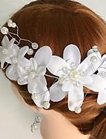 Femme Alliage / Acrylique / Tissu Casque-Mariage / Occasion spéciale / Décontracté Fleurs 1 Pièce