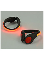sapatos de luzes LED de aviso de segurança