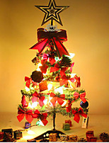 couleur éblouissement 60 cm mini-combo arbre de Noël avec luxe hang agir le rôle ofing se déguste