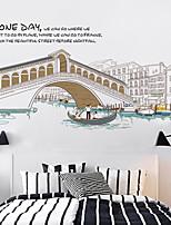 Arquitectura / Vida Imóvel / Lazer Wall Stickers Autocolantes de Aviões para Parede / Autocolantes de Parede EspelhoAutocolantes de
