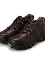 Men's Sneakers Spring / Fall Comfort Fabric Casual Flat Heel  Black / Brown Sneaker