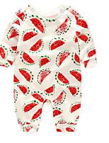 малыш Набор одежды-На каждый день,Однотонный,Хлопок,Весна / Осень-Белый