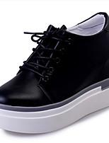 נשים-נעלי ספורט-דמוי עור-Others-שחור / לבן-שטח / קז'ואל / ספורט-עקב וודג'