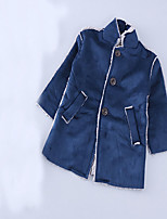 Girl's Casual/Daily Solid Suit & BlazerCotton Winter / Spring / Fall Blue