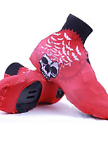 Other Cycling Shoes Men's Mountain Bike  Road Bike Boots Anti-Slip  Fast Dry  Waterproof  Breathable Red
