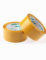 (Poznámka pack dvě žluté velikost 10000 cm * 4,5 cm *) balicí páska