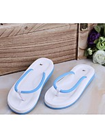 Women's Sandals Summer Comfort PVC Casual Flat Heel Others Black Blue Pink Others