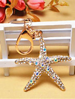 Country Creative Dacute Starfish Keychain
