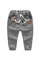 Boy's Casual/Daily Striped PantsCotton Spring / Fall Blue / Gray