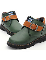 Boy's Flats Winter Others PU Casual Flat Heel Others Blue / Green Others