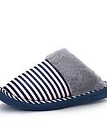 Unisex-Slippers & Flip-Flops-Lässig-Baumwolle-Flacher Absatz-Komfort-Blau / Rosa / Khaki / Koralle