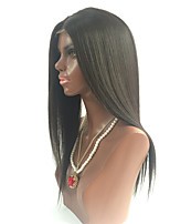 7A Brazilian Virgin Hair Glueless Full Lace Human Hair Wigs Straight Lace Front Wigs With Baby Hair For Black Women