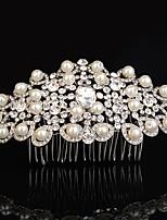 נשים ריינסטון סגסוגת כיסוי ראש-חתונה אירוע מיוחד קז'ואל חוץ מסרקי שיער חלק 1