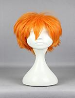 Popular New Anime Superfine Haikyuu!! Shoyo Hinata 30cm Short Orange Fashion High Quality Cosplay Wig