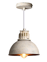 Max 60W Retro Industrial Simple Loft Pendant Lights Metal Dining Room Kitchen Bar Cafe Hallway Balcony Light Fixture