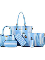 Women PU Formal Casual Office & Career Bag Sets