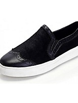 Women's Loafers & Slip-Ons Spring / Summer / Fall / Winter Platform Horse Hair Casual Platform Split Joint