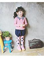 Girl's Casual/Daily Polka Dot LeggingsCotton Spring / Fall Pink