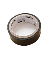(Note Packing 20 Black Size 500cm * 1.8cm) High Temperature Waterproof Insulation Tape