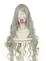 Luo Jie Ai Er Ji Beier silver volume cos wig watermark coiled silver