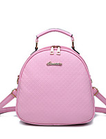 Women Polyester Casual / Outdoor Backpack White / Pink / Purple / Blue / Yellow / Red / Black
