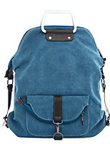 Casual Backpack Women Canvas Blue Red Black Khaki