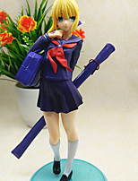 Fate/stay night Saber Lily PVC 22cm Anime Action Figures Model Toys Doll Toy