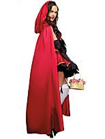 Costumes de Cosplay / Costume de Soirée Princesse Fête / Célébration Déguisement Halloween Rouge / Blanc / Noir ImpriméRobe / Gants /
